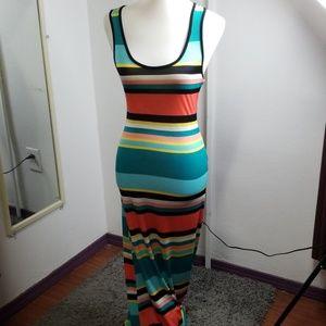 Multi color Maxi dress last one
